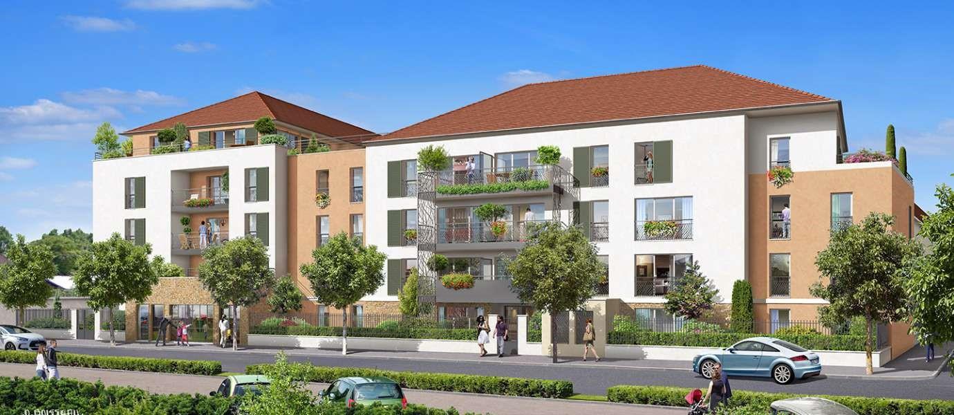 Résidence neuve Appartement type 3 – Saint Fargeau Ponthierry