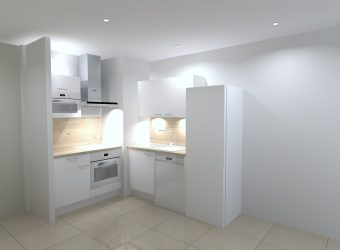 Appartement type 3 dans résidence neuve